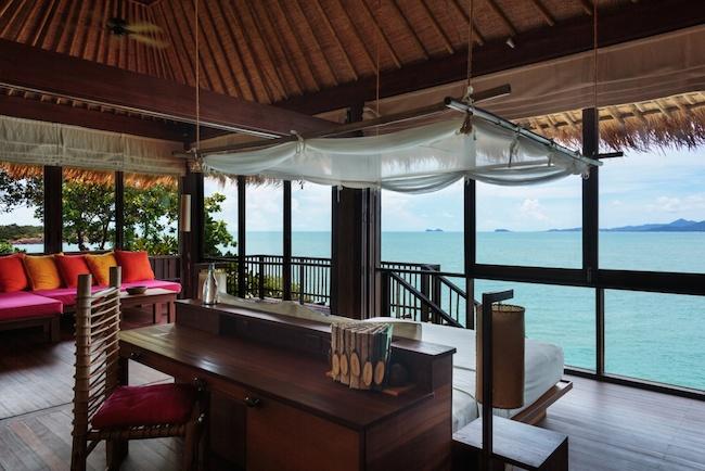 Six Senses - Ocean Fron Pool Villa - Aussicht