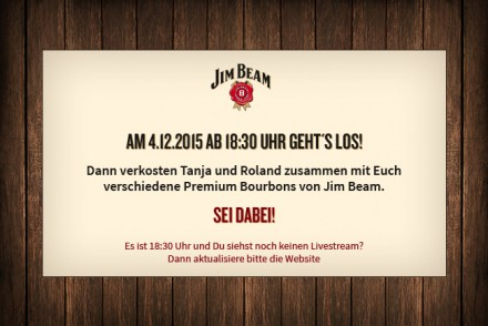 Jim Beam - Live Tasting