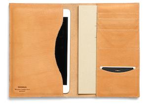 Shinola iPad Mini Notizbuchtasche