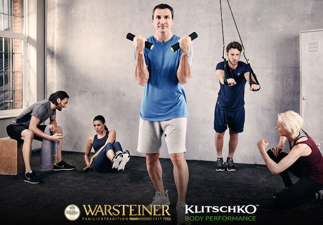Warsteiner Fitness Kampagne