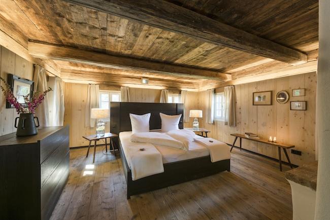 PuresLeben Ferienhaus - Schlafbereich