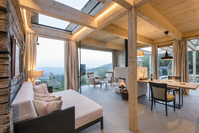 PuresLeben Ferienhaus - Wohnbereich