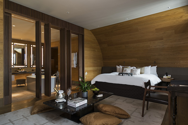 The Chedi Andermatt - Schlafzimmer