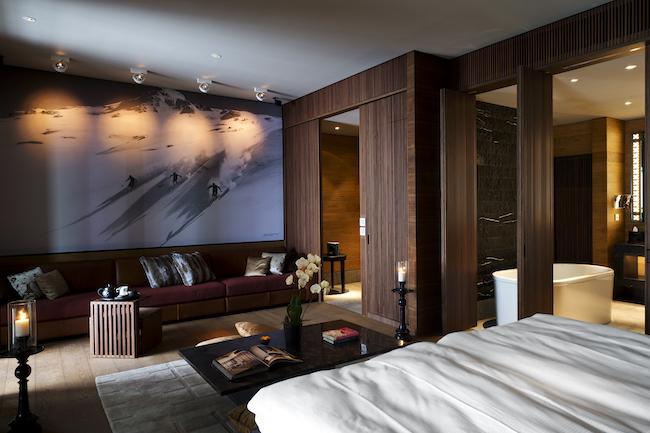 The Chedi Andermatt - Living Room
