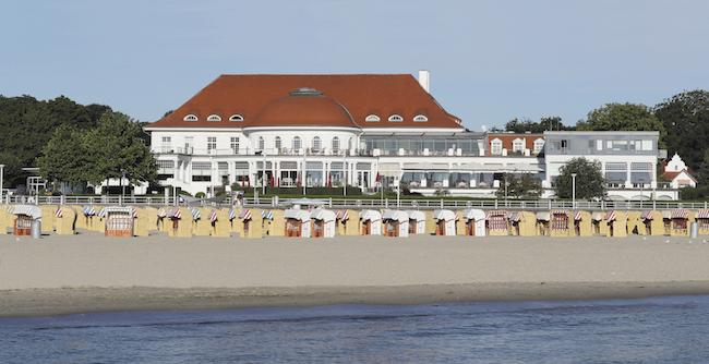 Atlantic Grand Hotel Travemünde - Rückseite