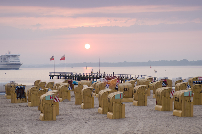 travemuende early in the morning