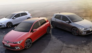 The new Volkswagen Golf GTE, GTI und GTD